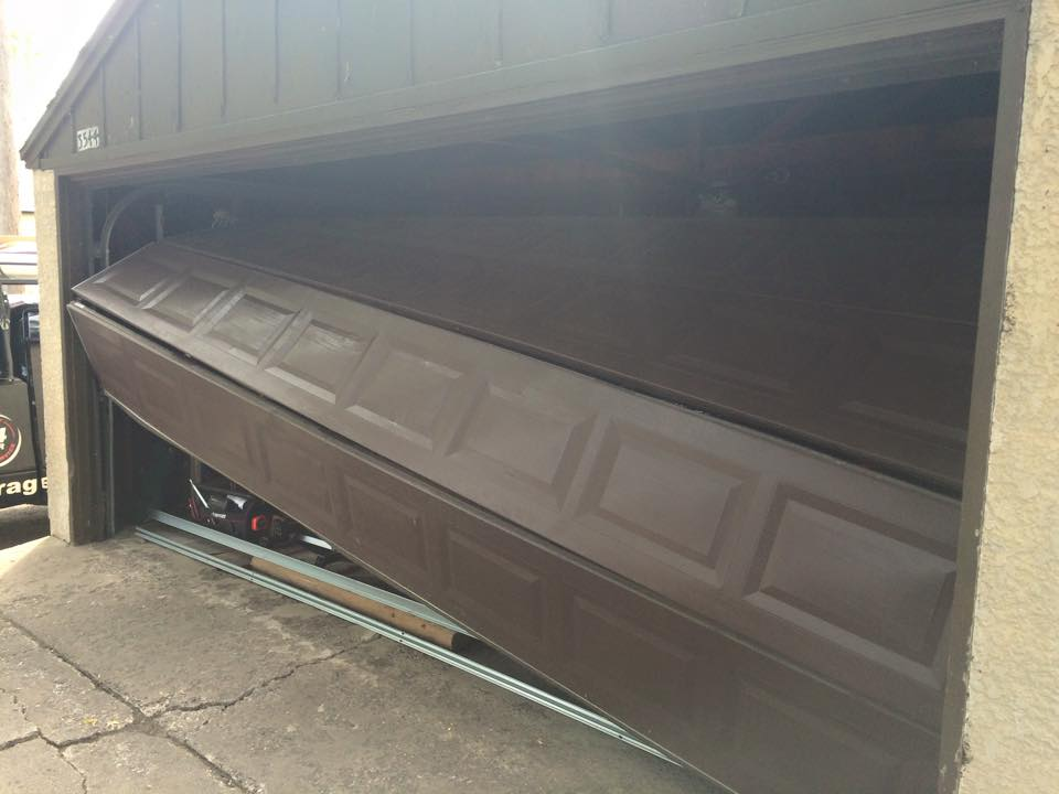 Garage Door Off Tracks
