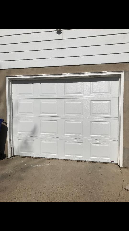busted door fixed